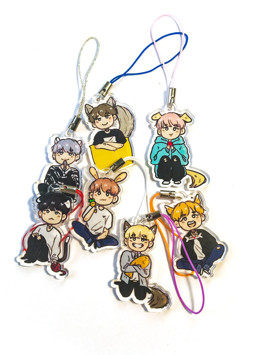 bts pets charms from minleaf