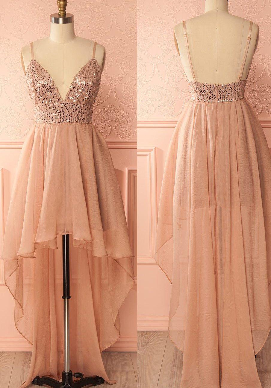 eeec235bfcb Cheap A-line Princess Prom Homecoming Dresses Short Pink Dresses ...