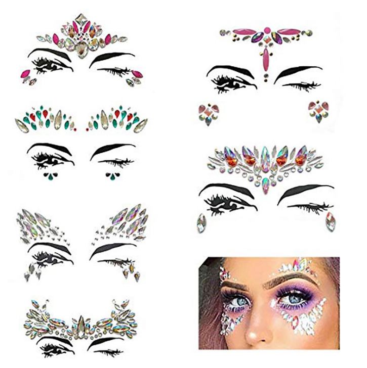 Festival face jewels gems bcffe4837827