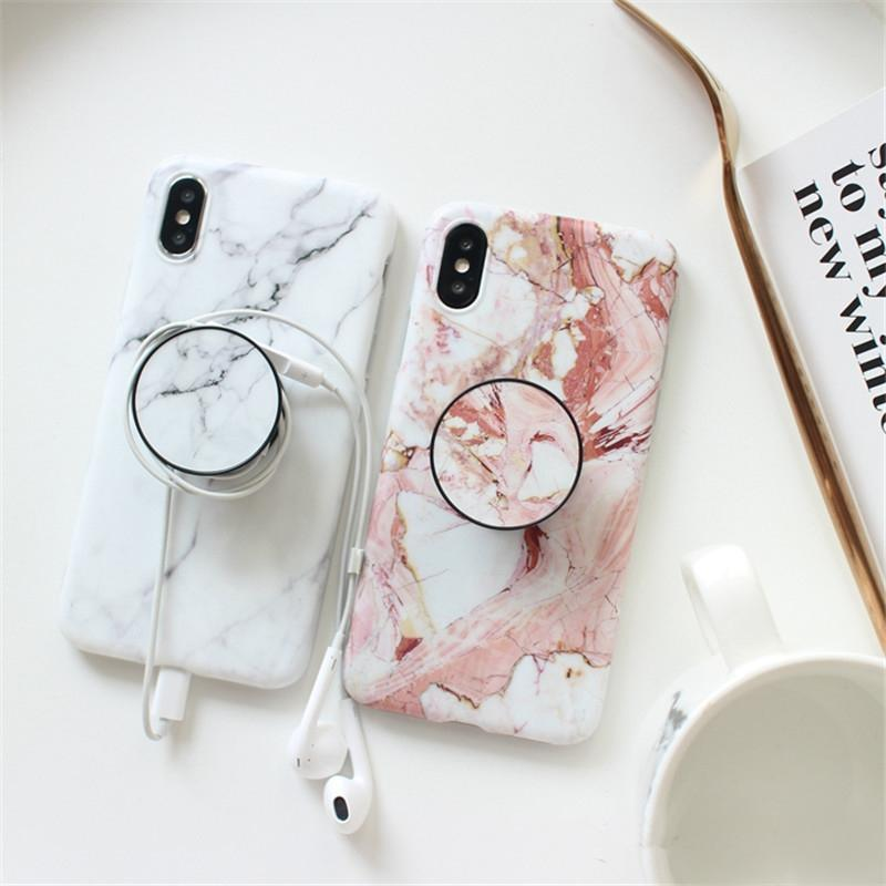 huge selection of 71074 fe78e Marble Acquerello Matte Iphone Case With Ring Holder from Moooh!!