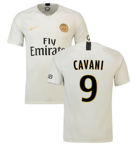 c6e4b692632 PSG Jersey Cavani  9 Paris Saint Germain 2018-2019 Jersey Away Men Soccer