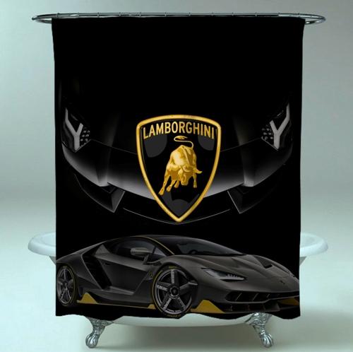 Best Selling Lamborghini Logo Wallpaper Art Favourite Waterproof