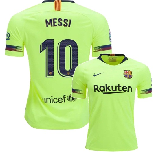 2018 19 Lionel Messi  10 Men FC Barcelona Away Shirt - Thumbnail 1 ae704077b