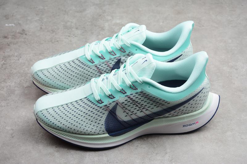 209ba131316 Nike Zoom Pegasus 35 Turbo Silver Green Running Shoes AJ4115-003 ...