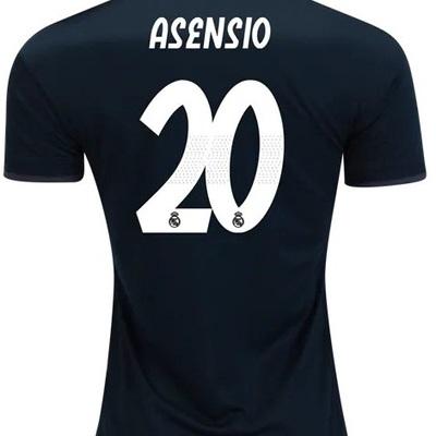 ce4782b342e Asensio  20 real madrid men away 2018 19 jersey stadium black