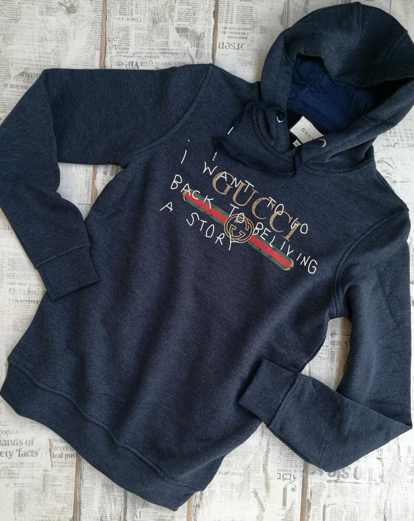 3cde0cdebcf Gucci Men s Hoodie Coco Capitán Logo Sweatshirt on Storenvy