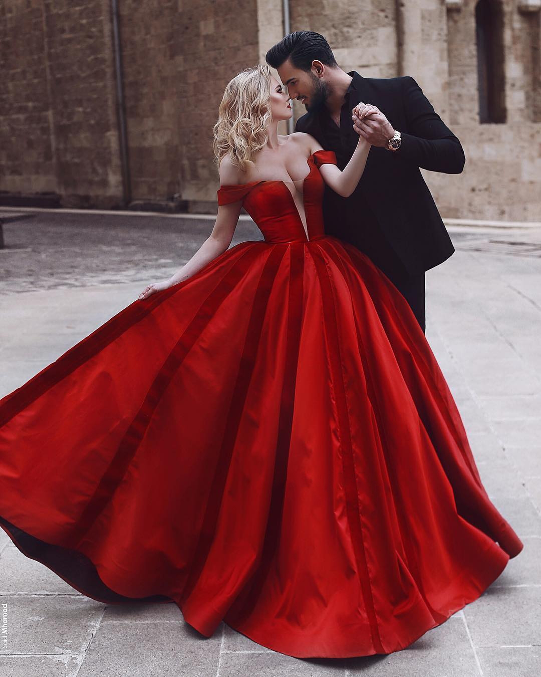 3e666ad1d48 New Sexy A-Line Prom Dress 2018 Off Shoulder Puffy Satin Floor Length  Evening Dresses