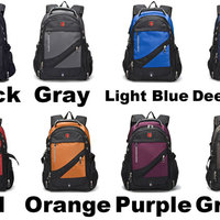 898f5584ce2e Cool Strong Outdoor Nylon Oxford Bag Waterproof Black Large Multi-functional  Camping Men Travel Backpack ...