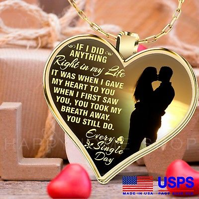 Gift for Wife Necklace You Still Do Everyday - Best Romantic Gift From  Husband