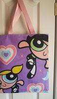 5a1a780f98f Purple Powerpuff Girls Purse Tote Bag - Blossom, Buttercup & Bubbles -  Thumbnail ...