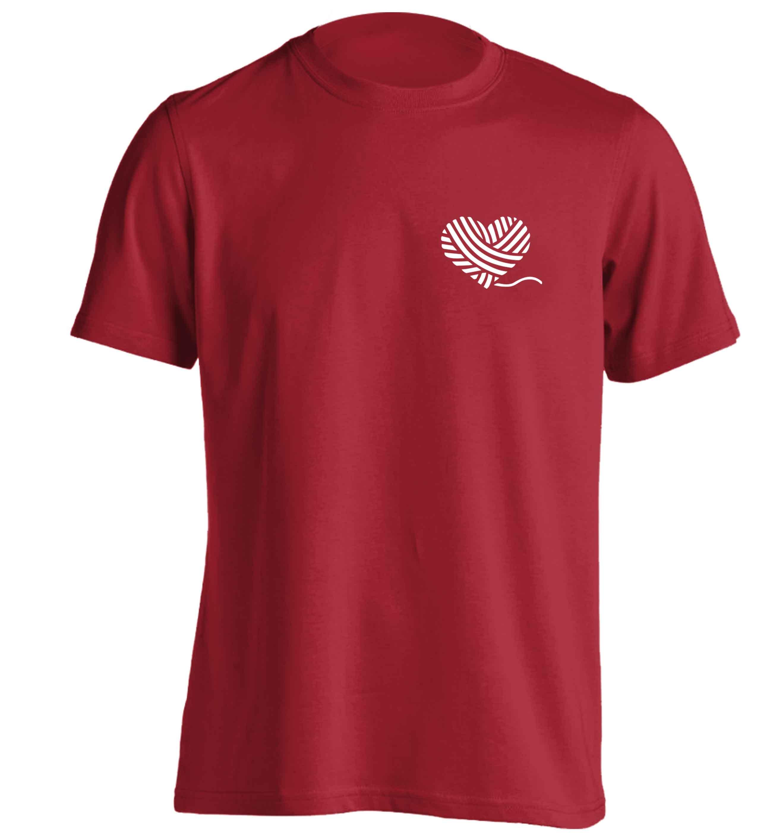 82c999e5d209 knitted heart (pocket design) t-shirt 5188 · Flox Creative · Online ...