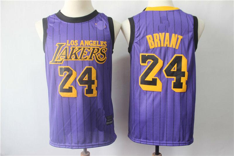 Men s Los Angeles Lakers  24 Kobe Bryant Jersey City Edition on Storenvy 30626e6df