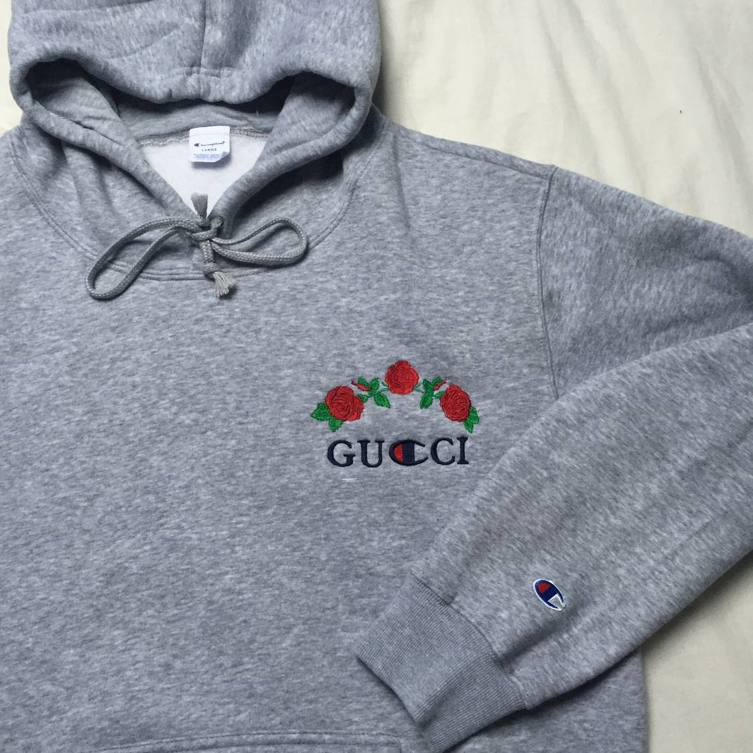 100% high quality arriving best prices Women Gucci x Champion Hoodie by Ava Nirui FREE SHIPPING sold by KawaiWorld