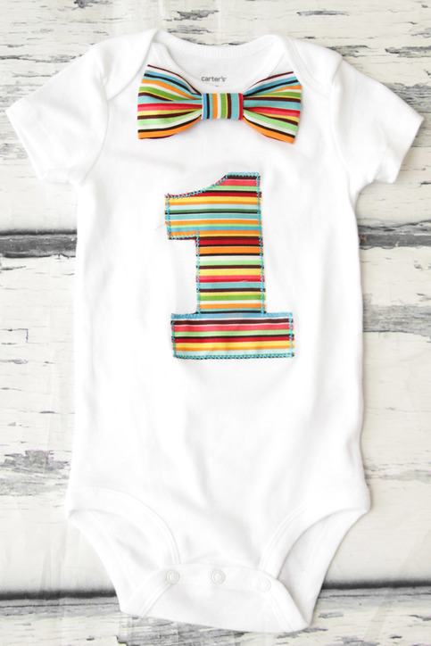 1f5f3c42f Baby boy first birthday rainbow themed outfit cake smash bodysuit  personalized birthday outfit themed on Storenvy