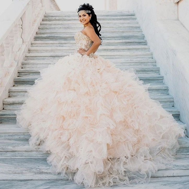 5aa5d584e40 2019 Customize Light Champagne Lace Prom Dresses