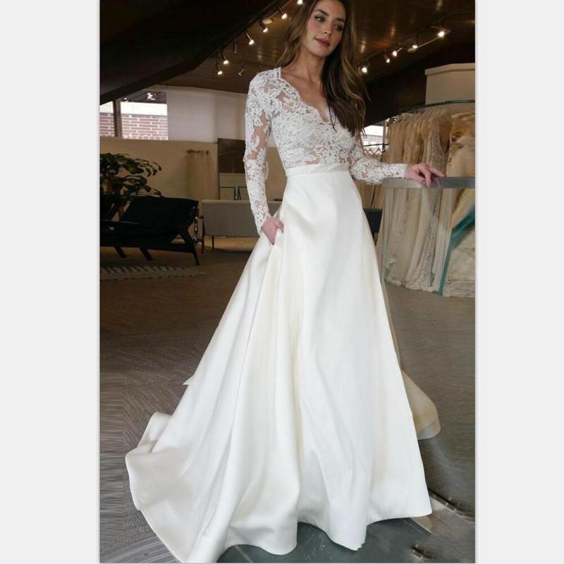 26485a495c8 Long Sleeves Wedding Dresses