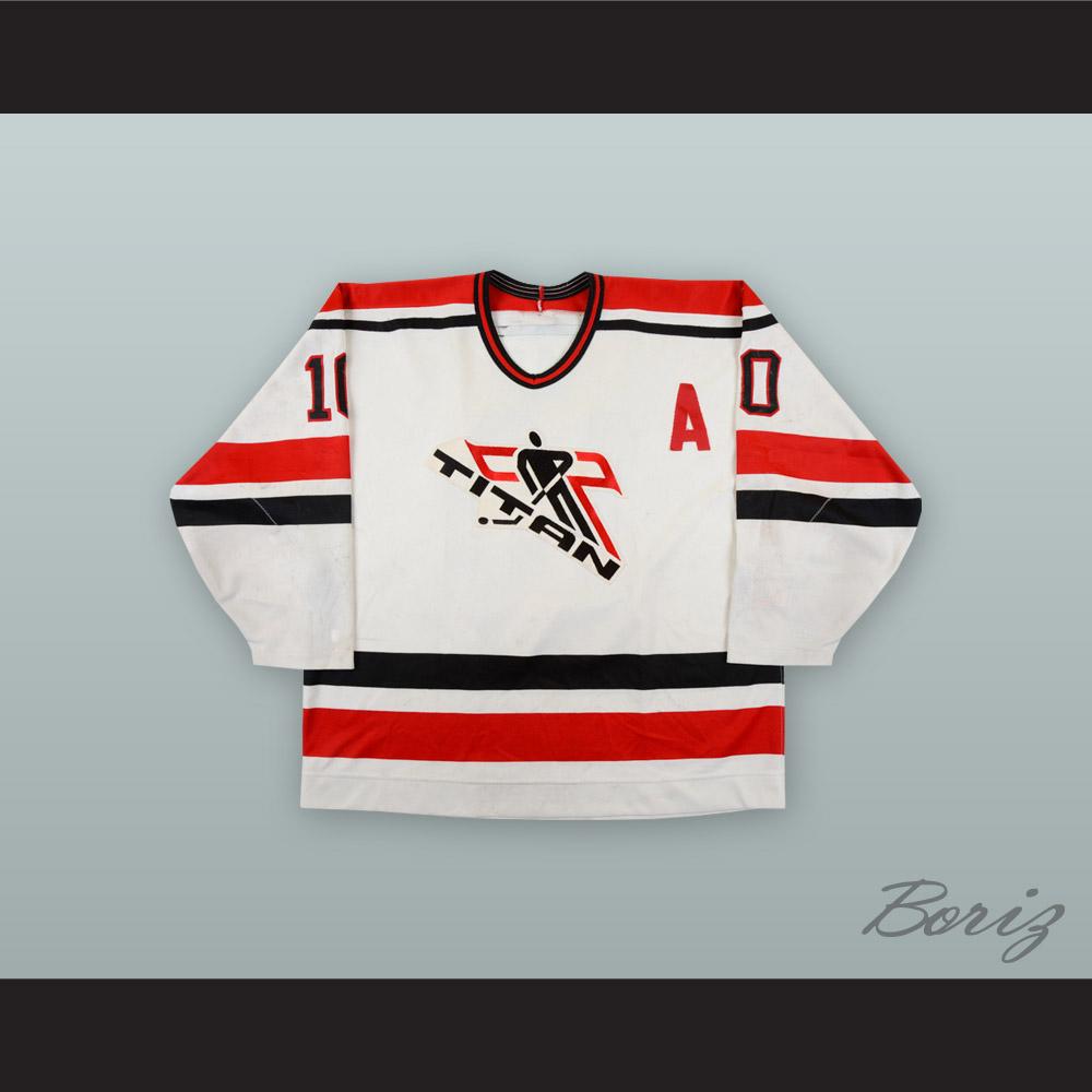 Sandy McCarthy 10 Laval Titans White Hockey Jersey · acbestseller ... e0dc6c4e3