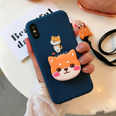 Kawaii Dog Phone Case for iphone 6/6s/6plus/7/7plus/8/8P/X/XS/XR