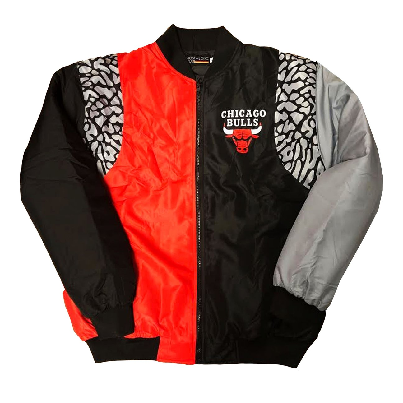 5476f42e7632e1 Nostalgic Club Chicago Bulls Cement Jacket · ALL THA DRIP · Online ...