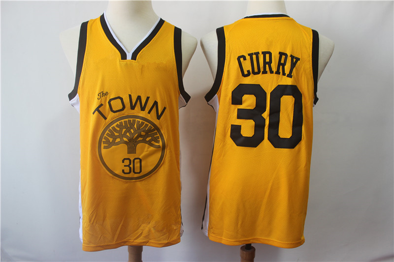 Men s Golden State Warriors Stephen Curry Yellow 2018 19 Swingman Jersey –  Earned Edition 79fccb498
