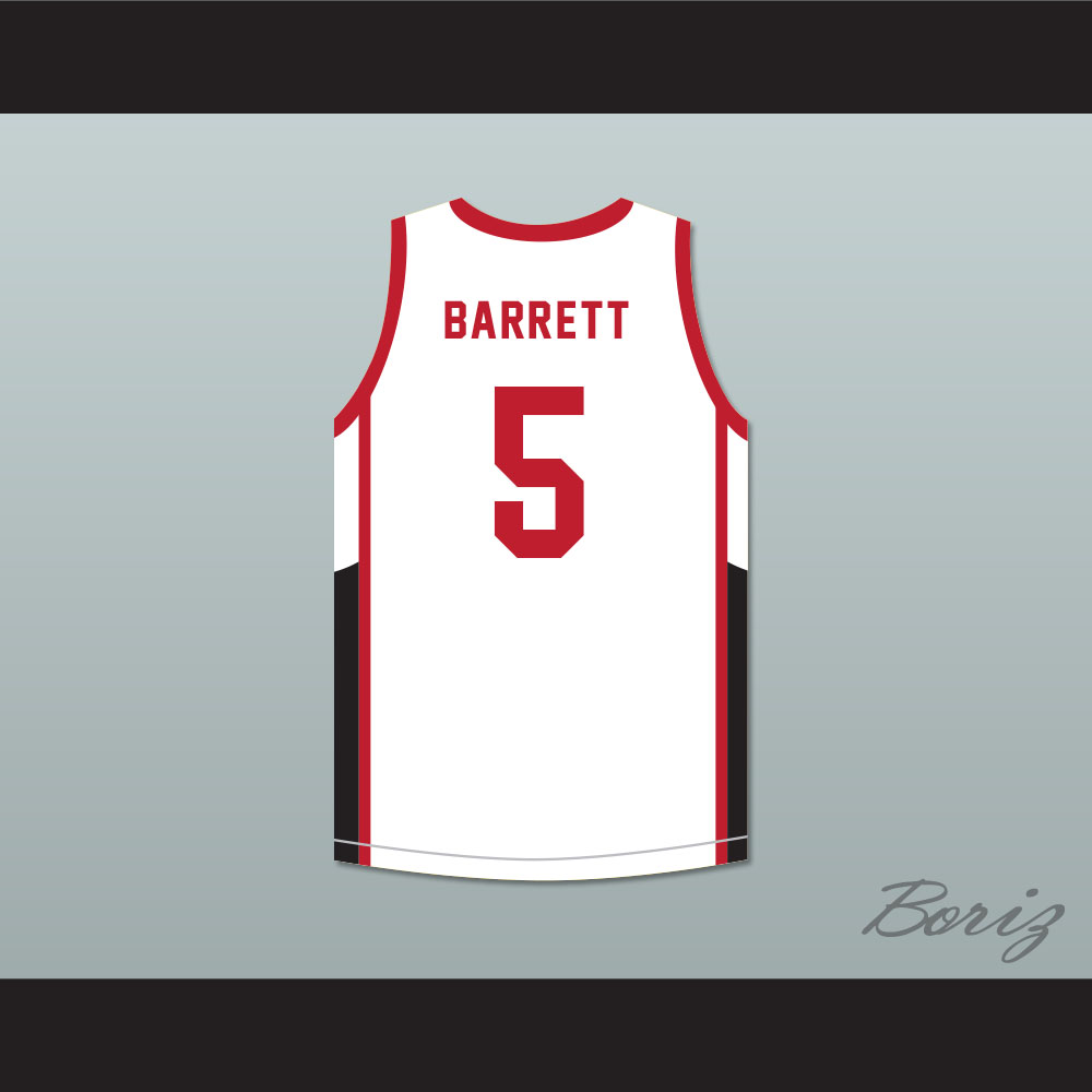 c07b9f22a434 R.J. Barrett 5 Canada White Basketball Jersey on Storenvy