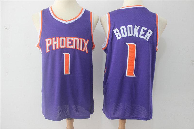 new concept 01ed4 e88e8 Men's Phoenix Suns Devin Booker Purple Swingman Jersey - Icon Edition (2)  from haosjers