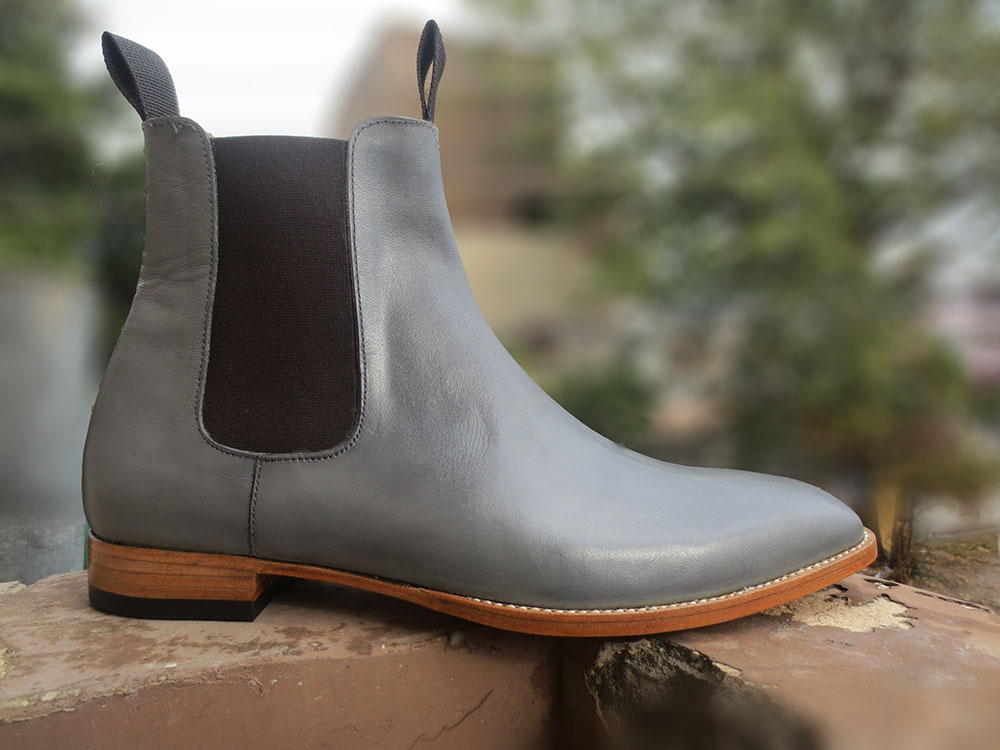 bea1fb9dd05f Handmade Leather Formal Boot