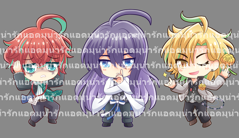 Hypnosis Mic Double sided Acrylic Keychain & Standy (Fling Posse & Manterou)