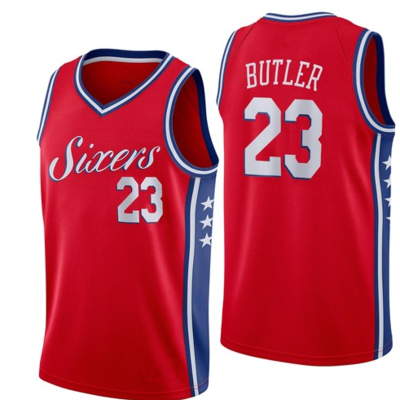 9a8ad1db2 Men's philadelphia 76ers #23 jimmy butler red jersey statement edition -  Thumbnail 1