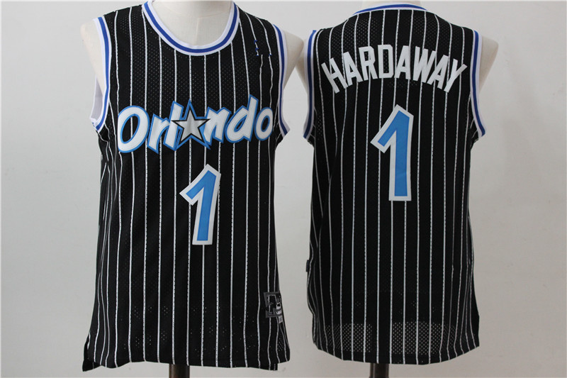 e2c43e4d61e Men s Orlando Magic Penny Hardaway Mitchell   Ness Black 1994-95 Hardwood  Classics Swingman Jersey