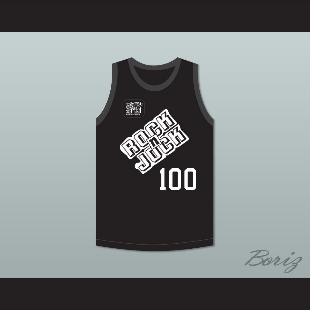Stephen Baldwin 100 Bricklayers Basketball Jersey 3rd Annual Rock N  Jock  B-Ball Jam 3b0e00652