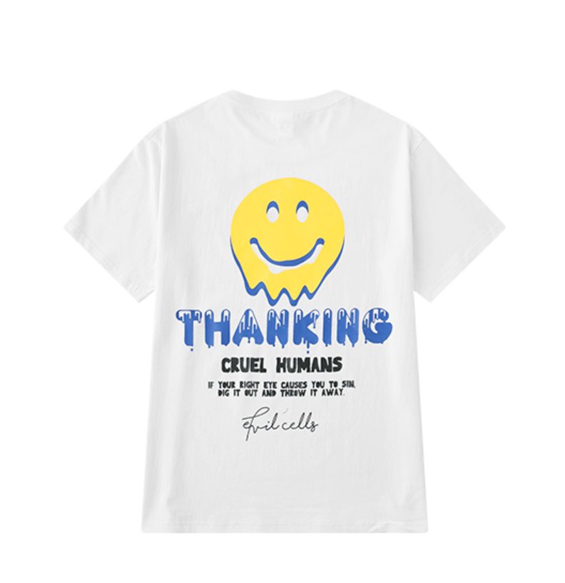 b0c9f4d8 THANKING T SHIRT · STORE CAT CAT · Online Store Powered by Storenvy