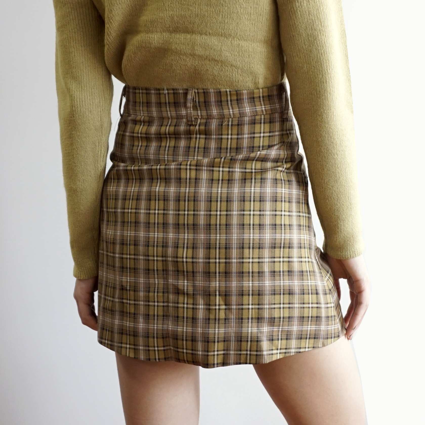 d3914e3176ebef Button Up Plaid Skirt (3 Colors) · Megoosta Fashion · Free shipping ...