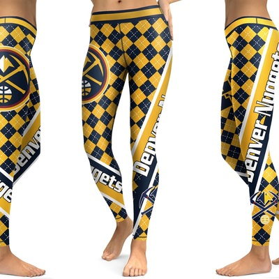 c9a713ff4 New Season Denver Nuggets NBA Sports Leggings · SportsMegas · Online Store  Powered by Storenvy