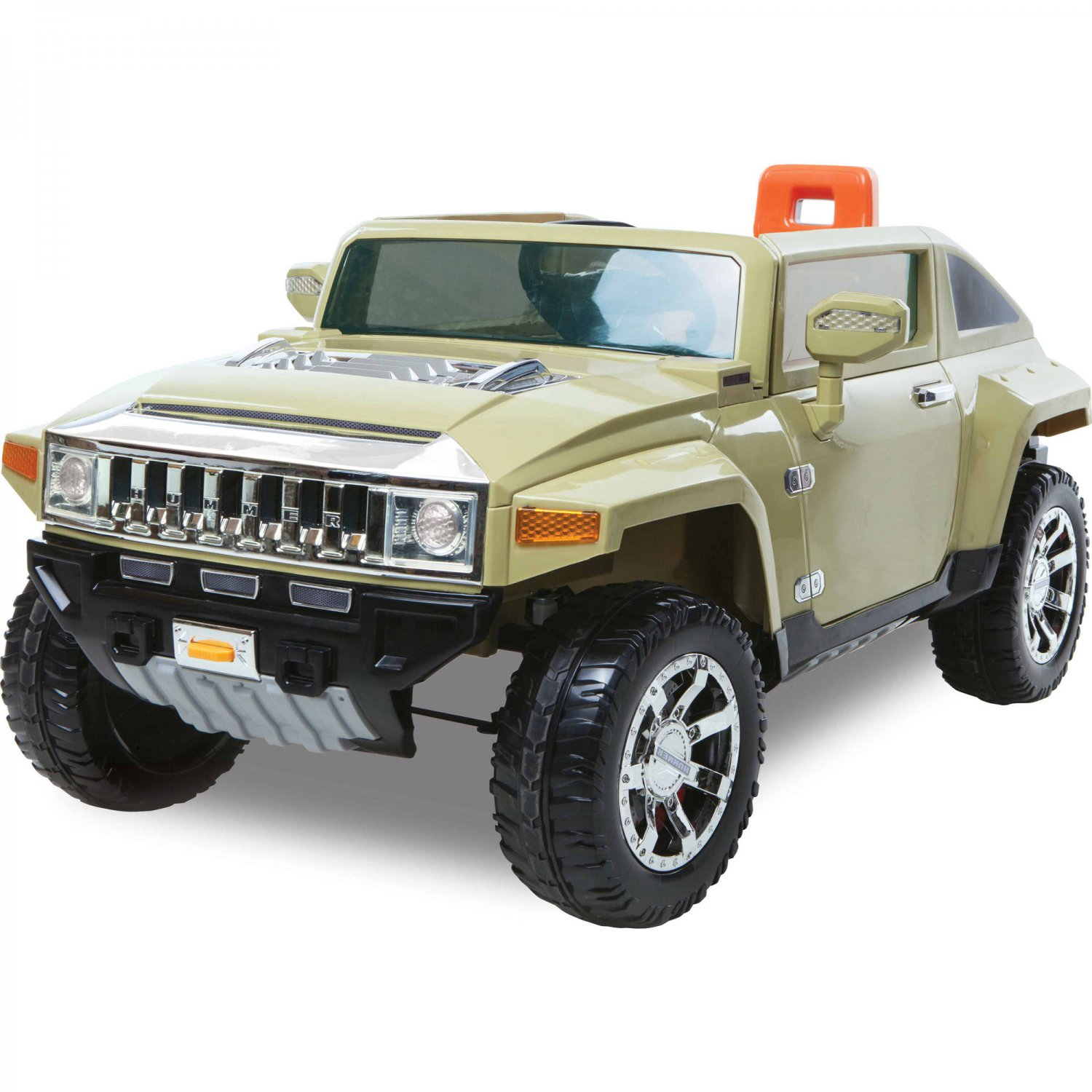 144V Hummer HX 14-Seater Battery-Powered Ride-On, Olive sold by Goodness &  Mercy   12v hummer