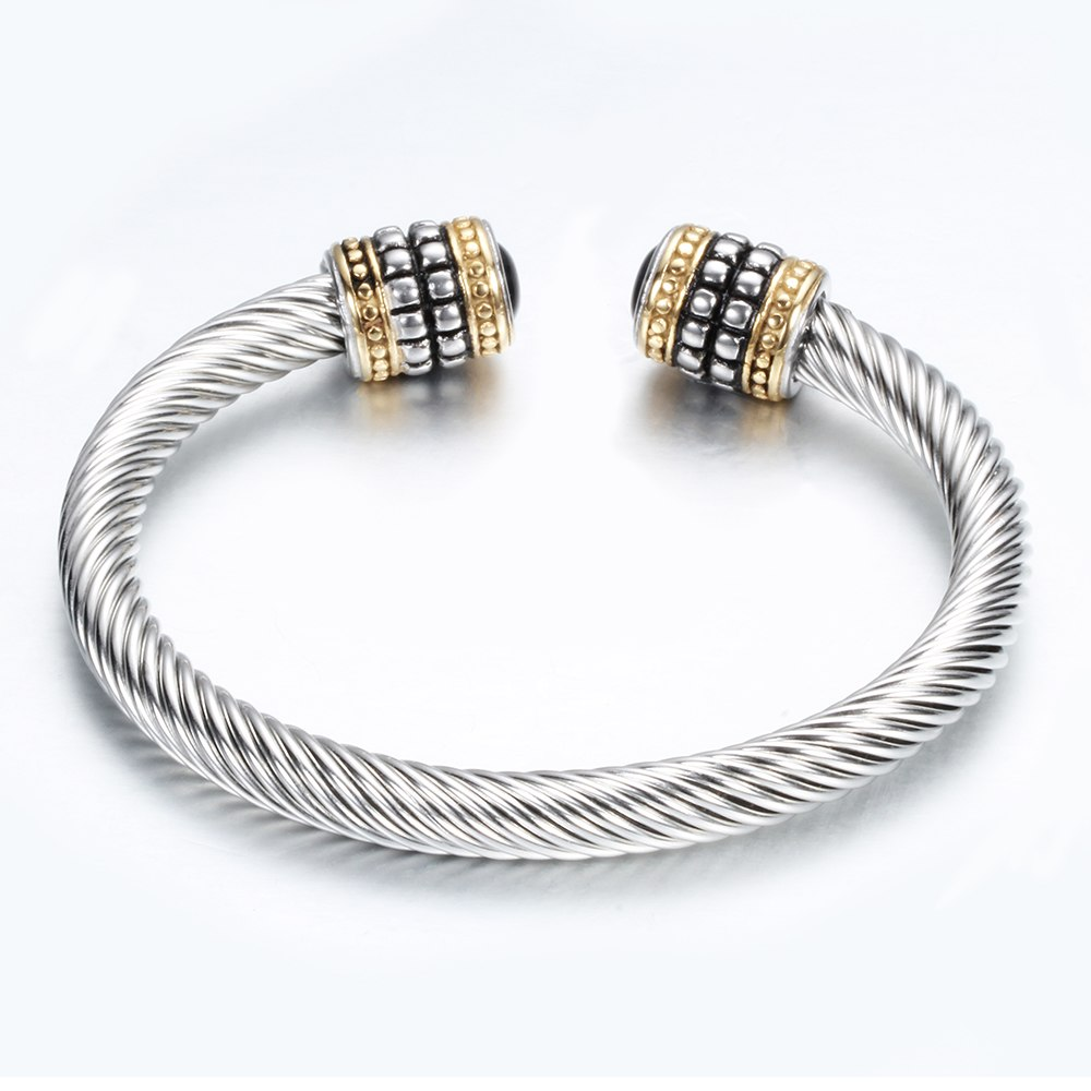 ea83520e7dc Free Cuff Twisted Fashion Christmas Brand Wire Unique Bracelets ...