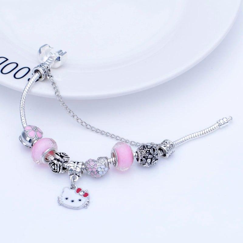6da5697f4 Children for Enamel bracelets Women Bracelet & Charm bangles Beads ...