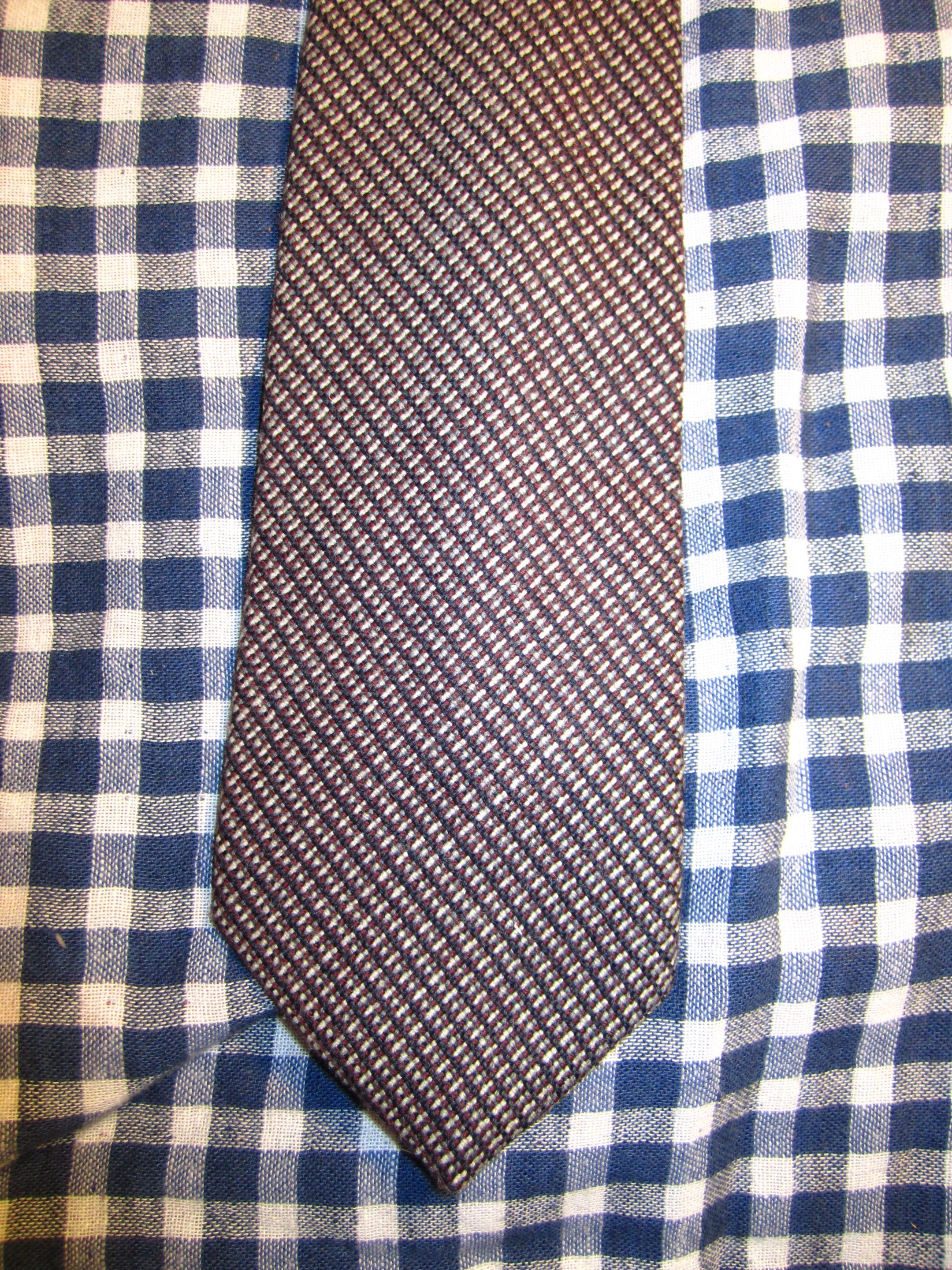 Austin Reed Tweed Tie Sold By The Ckc Shoppe On Storenvy