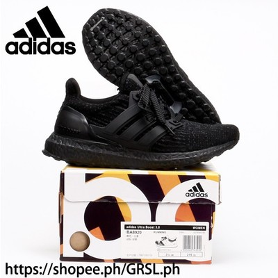 Adidas ultra boost Running shoes For Women men All Black