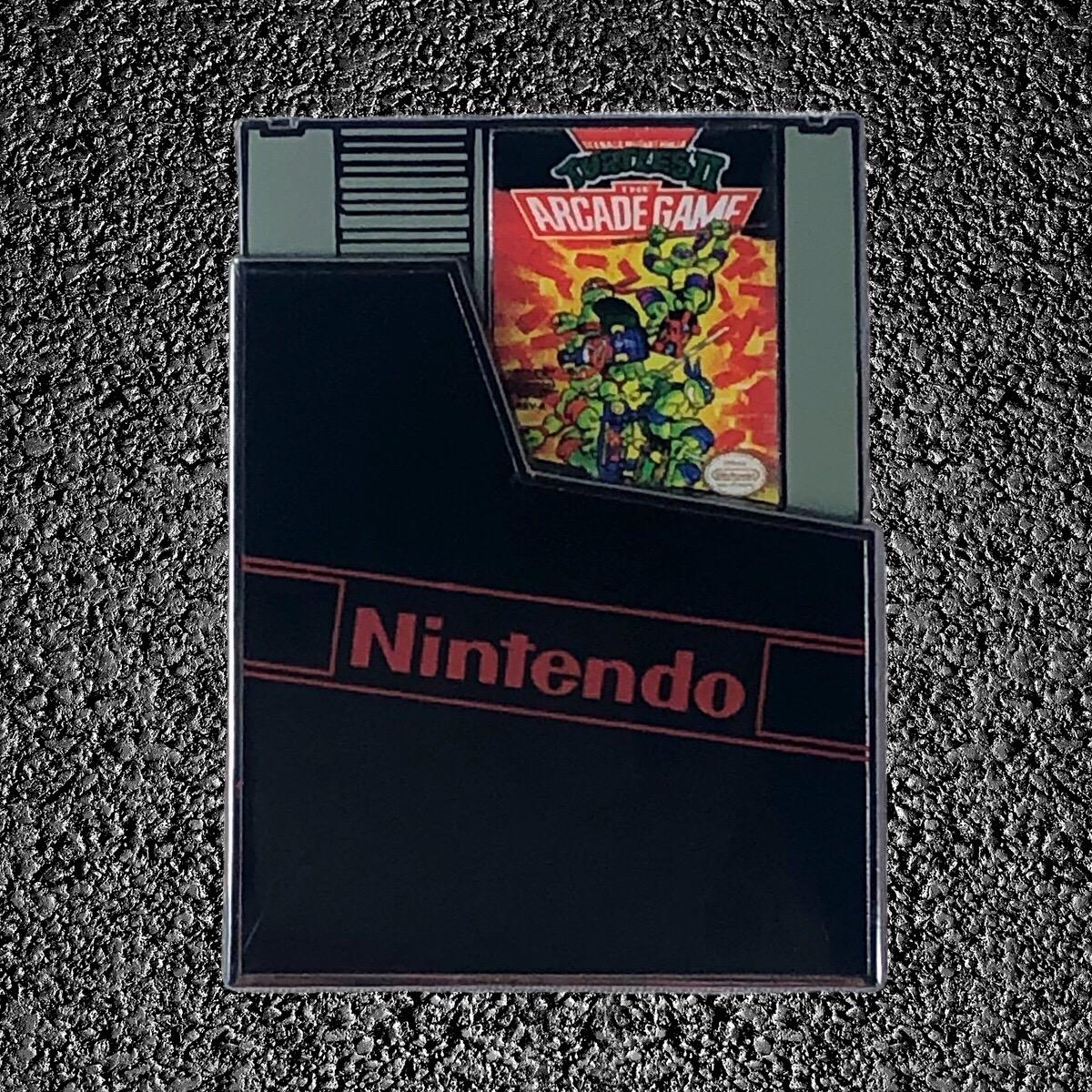 TMNT 2: The Arcade Game Cartridge (Slider Pin)