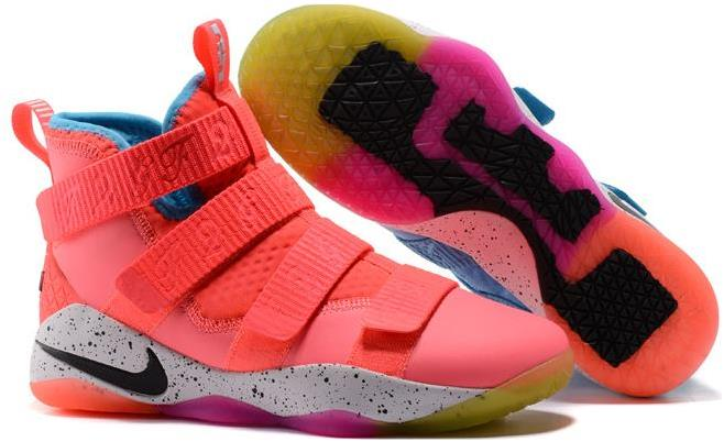 new style b41da 8509d Nike LeBron Soldier 11 Markelle Fultz PE Pink/Teal For Sale from BELLDRESS