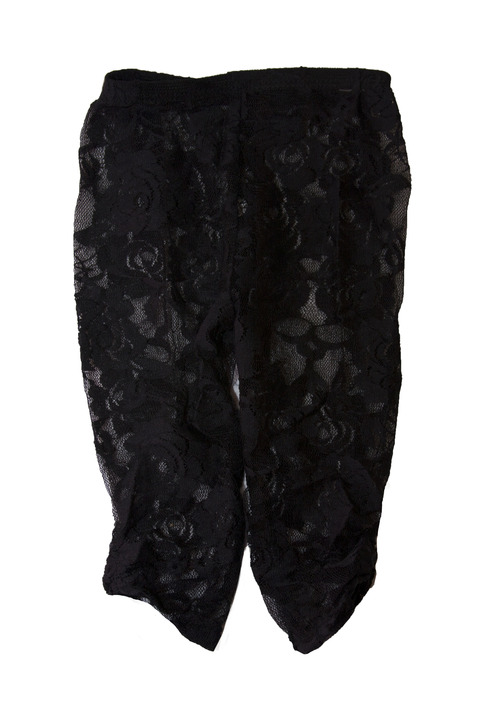 Black Floral Lace Leggings Stretch Lace Leggings Lace Baby