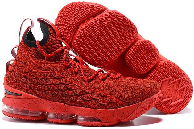 meet 8341d e4131 Nike LeBron 15 Red and Black For Sale from BELLDRESS