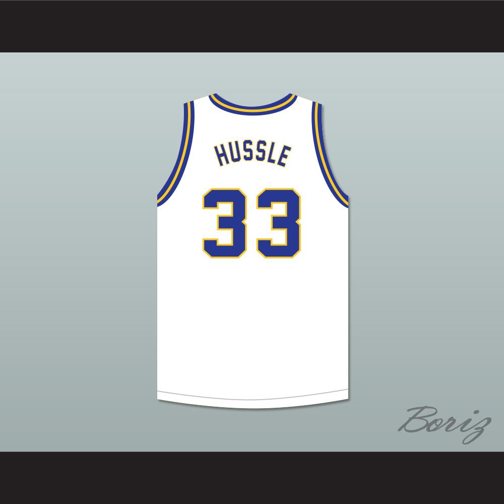 24ac27b333b Nipsey Hussle 33 Crenshaw White Basketball Jersey · acbestseller ...