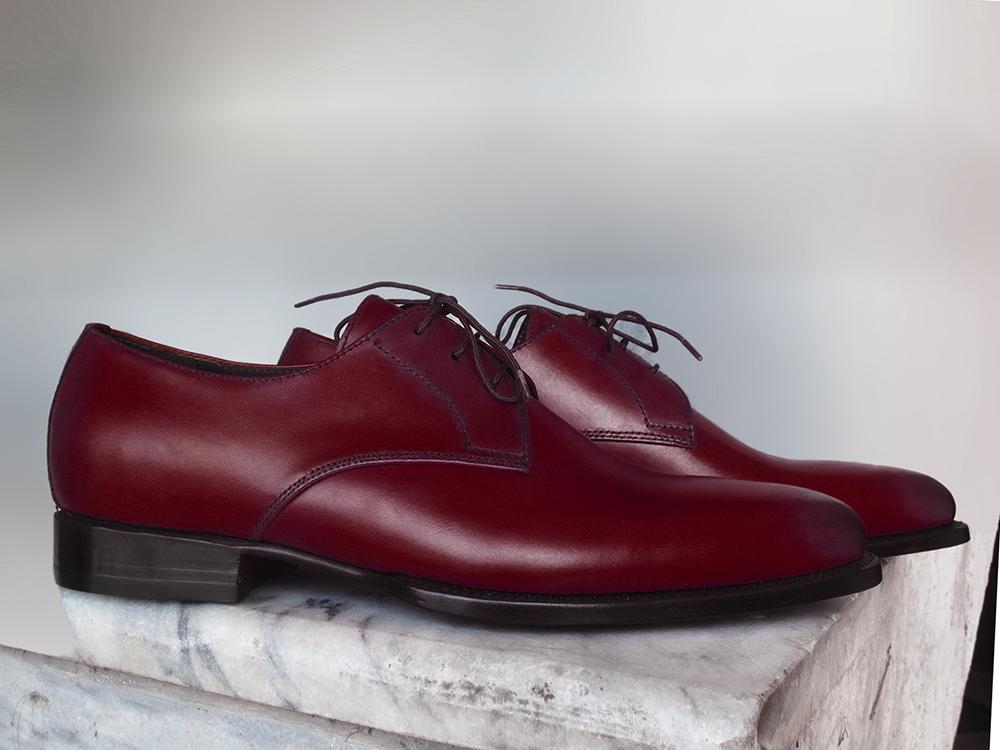 Men Lace up Derby Dress Formal Shoes
