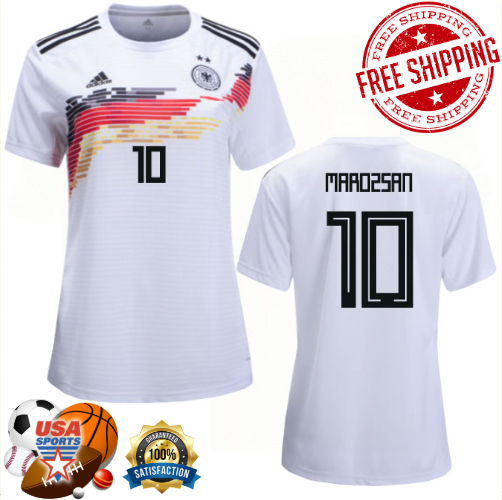 huge selection of 98479 57859 DZSENIFER MAROZSAN No.10, Home jersey of Soccer World Cup France of Women's  (2019) from USASPORTS