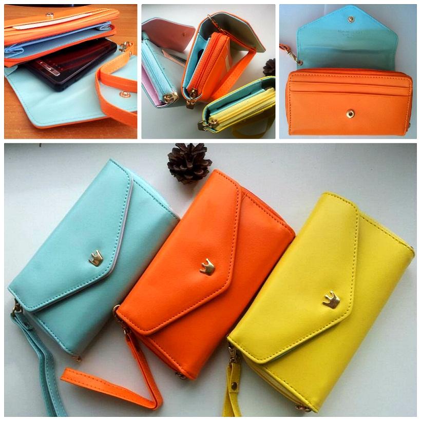 Womens Pu leather Crown Wallet New Fashion Korean Style Phone case ... 0cdb274520