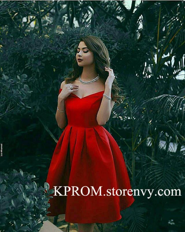 Red Elegant Semi Formal Dresses