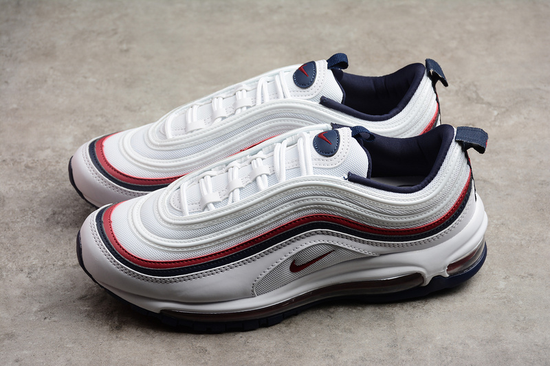 sports shoes 658a6 3e1d8 Nike Air Max 97 White Red Running Shoes sold by ivicente