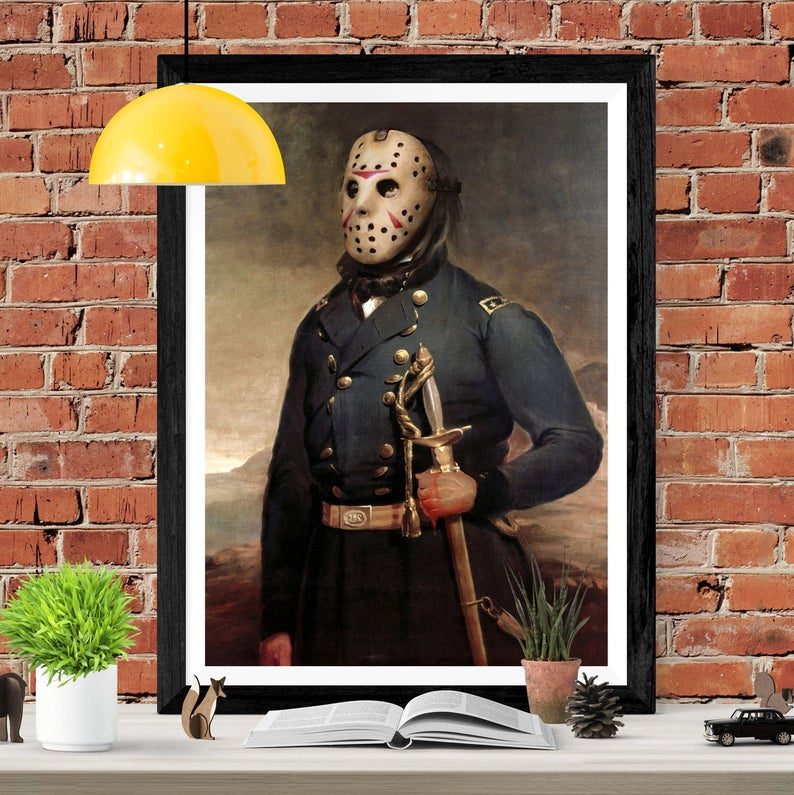 A0 A1 A2 A3 A4 Sizes Friday The 13th Giant Poster